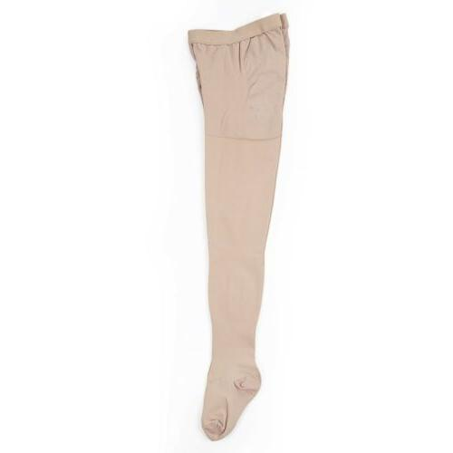 Nude 23-32mmHg Compression Opaque Absolute Socks