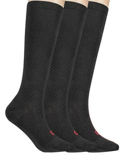 MD 3 Pairs Compression Socks  for Women - Knee High Graduate